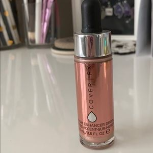 "NWOT CoverFX custom enhancer drops ""blossom"""